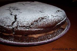 Torta al cacao con nutella e mascarpone