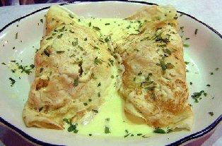Crepes delicate ai formaggi