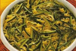 Sformato di tagliatelle e zucchine