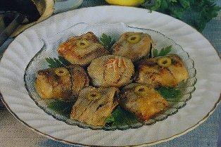 Fagottini di melanzane con patè di granchio