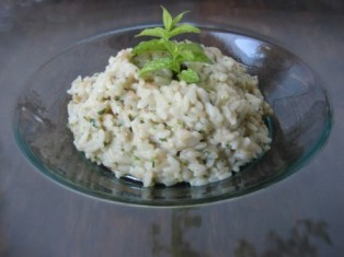 Risotto alla menta ricette cucinare ricetta cucina for Cucinare risotto