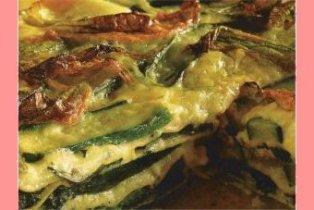 Lasagne alla crescenza e zucchine