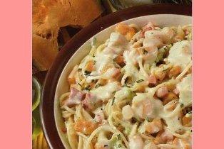 Spaghetti zucca e gorgonzola