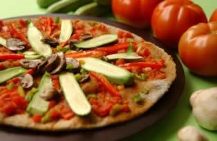 Pizza vegetariana ricette cucinare ricetta cucina for Cuisinier vegetarien
