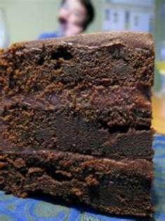 Torta Al Cioccolato insolita