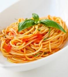 Spaghetti Al Pomodoro Crudo